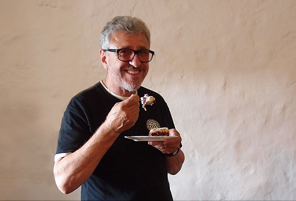 Friedrich Pirkowski, Unterstützer von Kunst hilft geben der ersten Stunde, Foto: Ute Schmitz