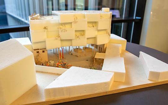 Siegermodel des Architekturstudenten-Wettbewerbs für CASA COLONIA, Foto: Anatoliy Stepanko