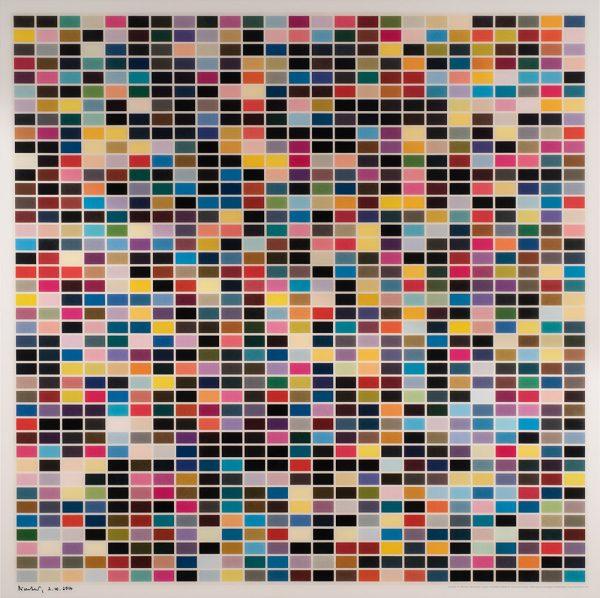 Gerhard Richter, 1024 Farben, Edition, Farboffsetdruck, 3.10.2014
