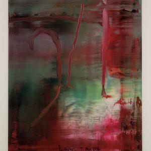 Gerhard Richter, Edition, Farboffsetdruck, Abstraktes Bild 889-5, 2004, signiert 3. Okt. 2014