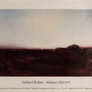 Gerhard Richter, Edition, Farboffsetdruck, Arbeiten, Kunstverein für die Rheinlande und Westfalen, Kunsthalle Düsseldorf 1971, signiert