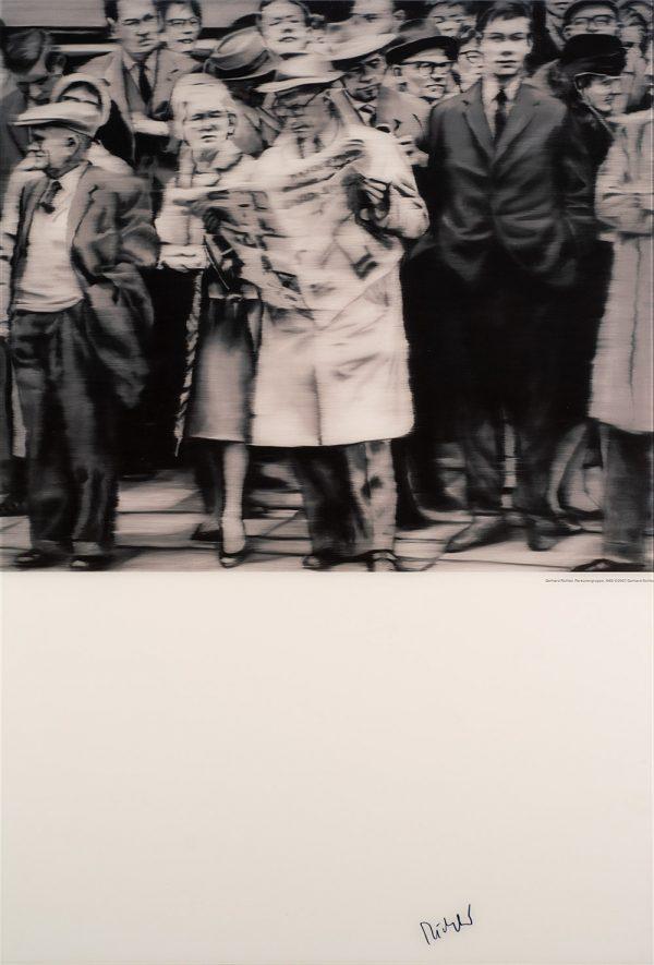 Gerhard Richter, Popart is, Edition, Schwarz-Weiß-Offsetdruck