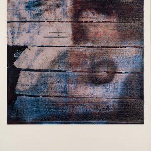 Gerhard Richter, S mit Kind, Edition, Farboffsetdruck Hamburger Kunsthalle, signiert