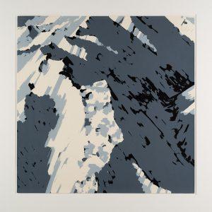 Gerhard Richter, Schweizer Alpen (Motiv A2), Farbsiebdruck