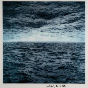 Gerhard Richter, Seestück, Edition, Farboffsetdruck, signiert 15.3.2017