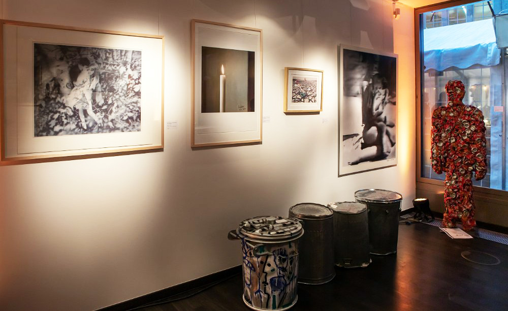 Benefiz-Kunstausstellung bei PricewaterhouseCoopers in Köln, Foto: Anatoliy Stepanko