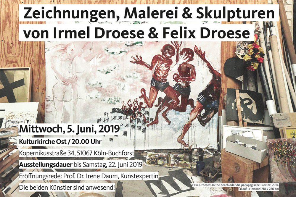 Ausstellungseröffnung Irmel und Felix Droese