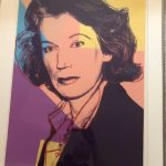 "Andi Warhol, ""Mildred Scheel"""