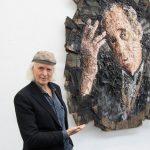 Oliver Jordan, Porträt Heinrich Böll, Widerstand ist ein Freiheitsrecht