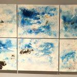 """Manfred Dahmen, """"Wolkenbilder"""" über Köln"""