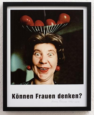 Anna Blume, Können Frauen denken? - Kunst hilft geben