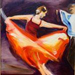 "Bettina Mauel, ""Tango III"""