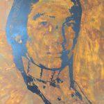 """Jürgen Kuhl, """"Sioux-Indianer nach Warhol"""""""